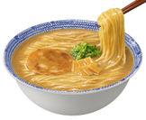 マルちゃん正麺 カップ 極濃魚介豚骨 調理画像(1)