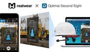 遠隔作業支援サービス「Optimal Second Sight」、RealWearの産業用スマートグラスに対応