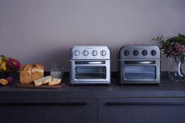 トーストもノンフライ調理も1台で簡単に!クイジナート《ノンフライ オーブントースター》計3機種が登場