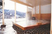 蔵王プラザホテル露天風呂