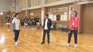 高田 真希選手がMCに挑戦
