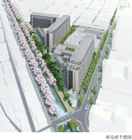 名古屋市内で初となる栄地区3km圏×地下鉄徒歩2分×スーパーマーケット隣接総戸数351戸の大規模分譲マンション「MID WARD CITY(ミッドワードシティ)」モデルルームオープン