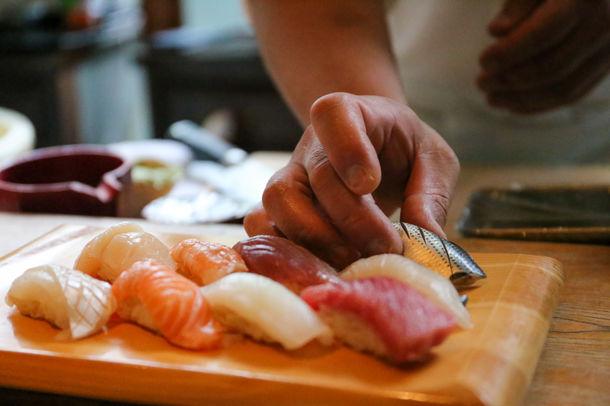 「恵比寿魚金」が本格的な鮨を楽しめる新業態として10月15日リニューアルオープン!