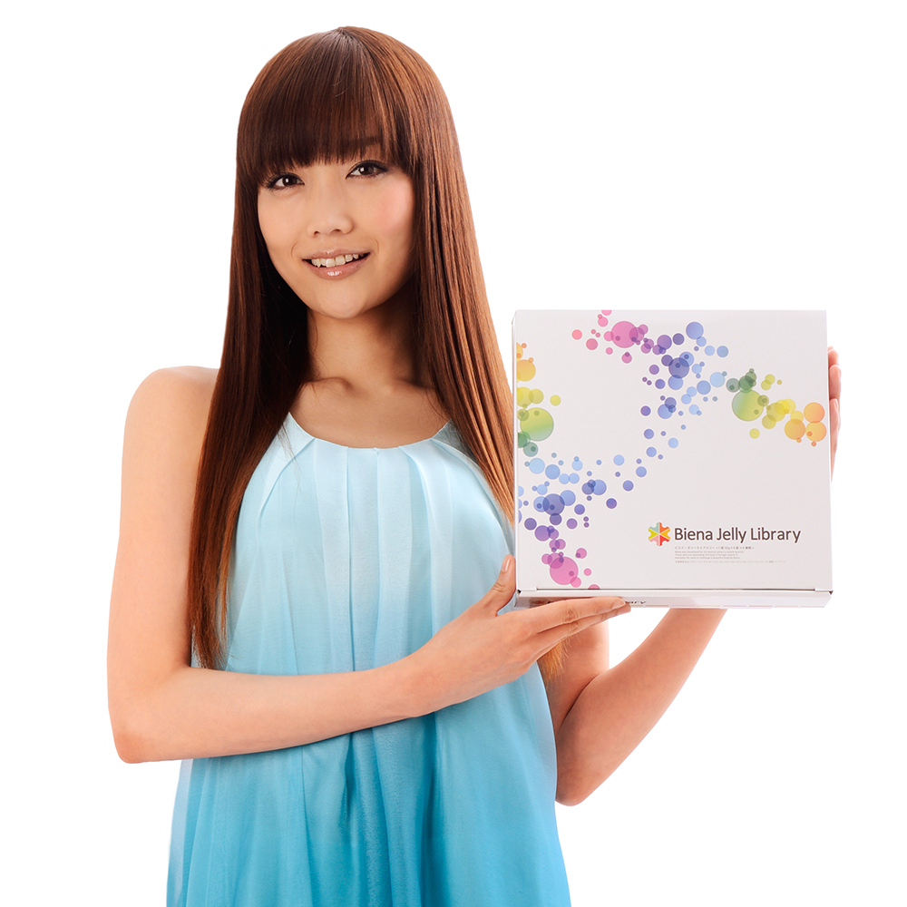 Biena Jelly Libraryの佐藤江梨子