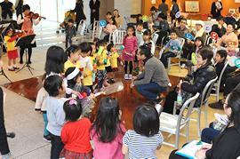 子どもも大人も楽しめる音楽会