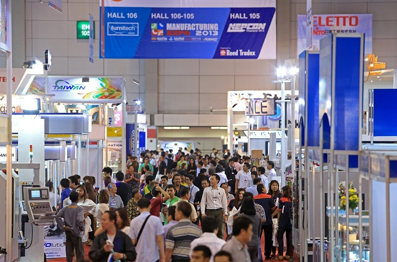 Manufacturing Expo 2013 の様子(1)