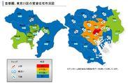 首都圏賃貸住宅市況図