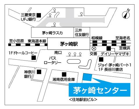 茅ヶ崎センター地図