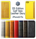 SLG Design D5 Edition Calf Skin Leather Diary