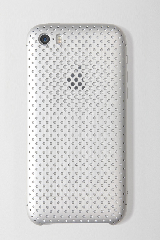 『SQUAIR Duralumin Mesh Case for iPhone 5s/5』シルバー