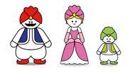 (左から)「テンタン」「レーシー」「コテンタン」