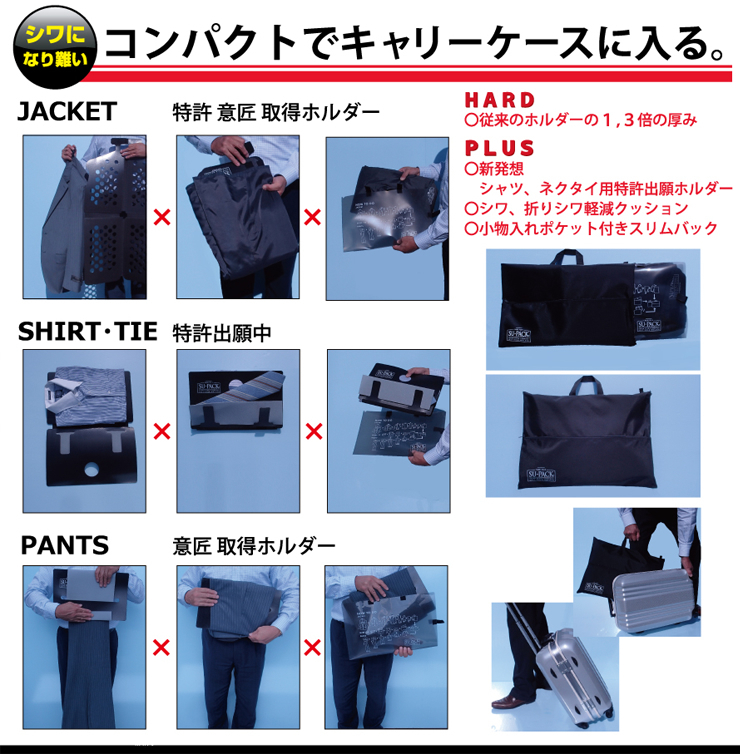dbfff407679471 スーツも ワイシャツも ネクタイも、1つのバックでキャリーケースに収納 ...