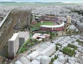 「広島ボールパークタウン」完成予想図