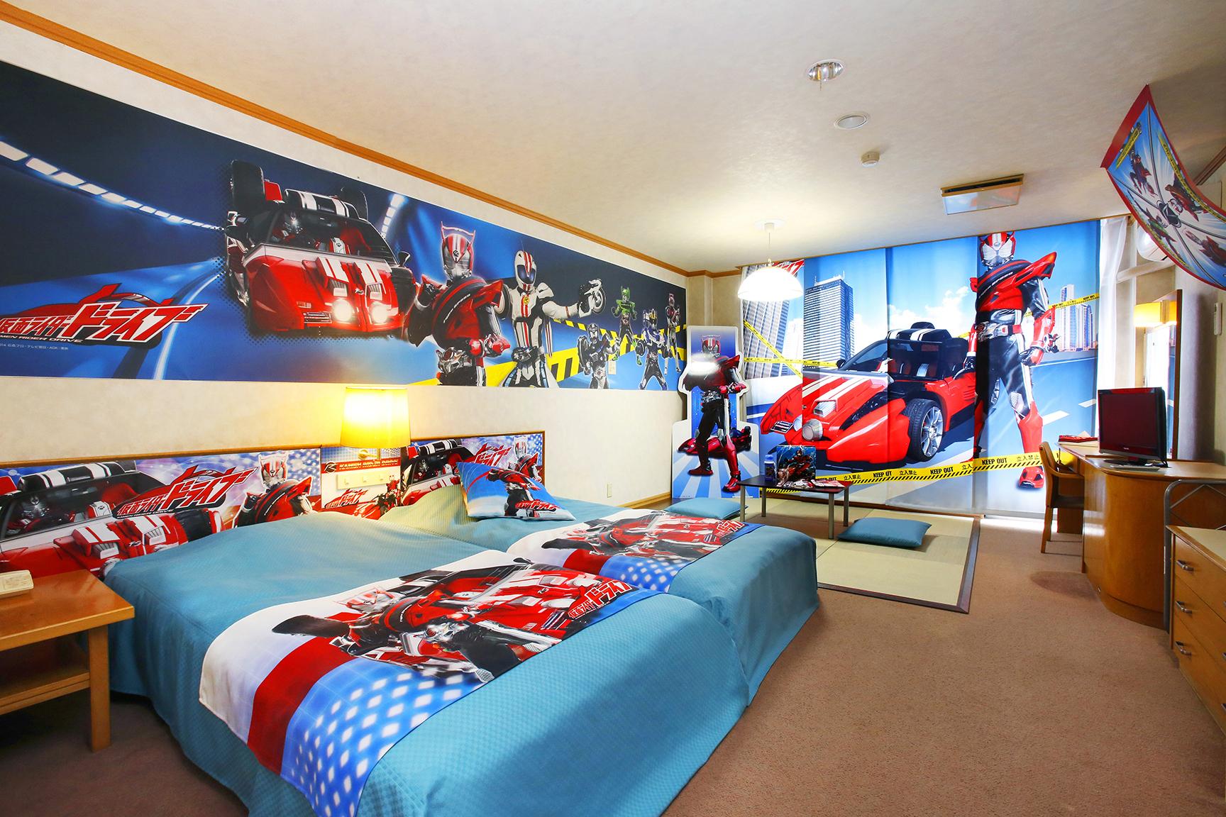 池の平ホテルの 仮面ライダードライブ宿泊プラン 2015年3月から
