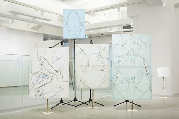 伊藤 存「地域アートプロジェクト報告展〈磯部湯活用プロジェクト〉」2014年/アーツ前橋