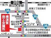 横須賀商工会議所MAP