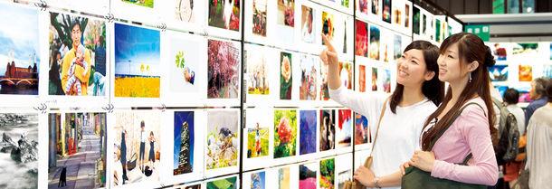 30,000 人の写真展2015