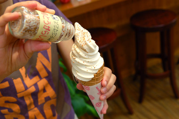 雪塩ソフトクリームトッピング塩 イメージ1