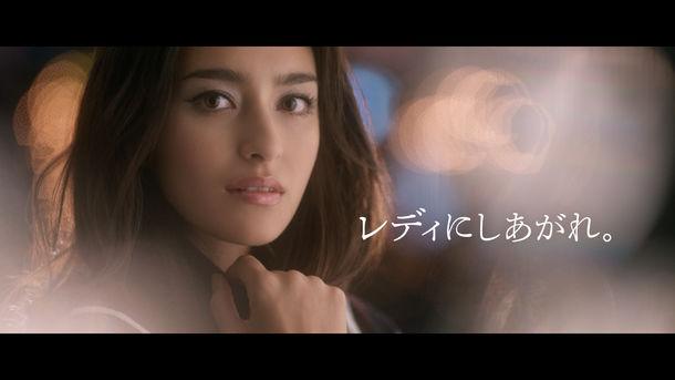 資生堂マキアージュ新CM「かけひきメーク」篇メインカット