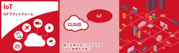 IoTプラットフォームサービス イメージ